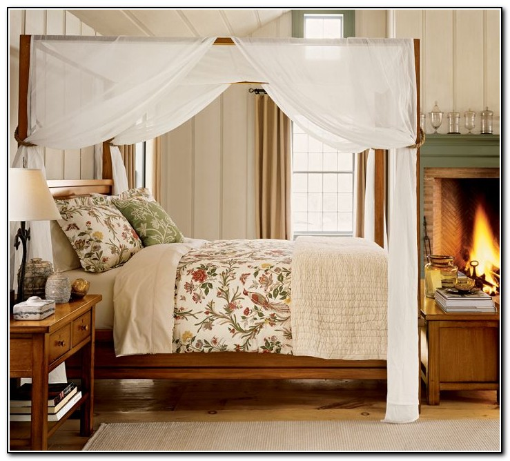 Four Poster Bed Canopy Ideas Beds Home Design Ideas
