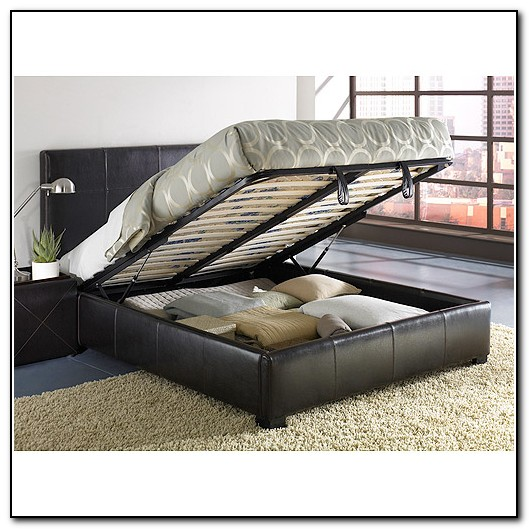 Full Size Bed Frame With Storage Underneath Beds Home