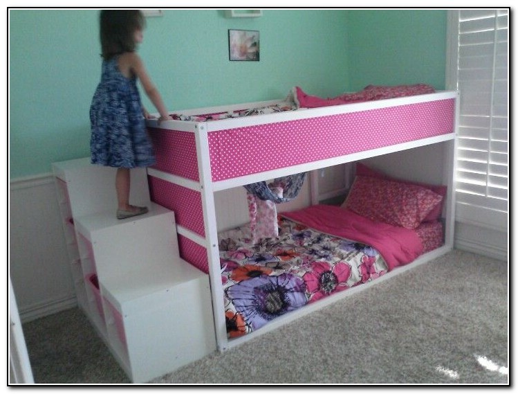 Ikea bunk beds for girls beds home design ideas for Teenage bunk beds ikea