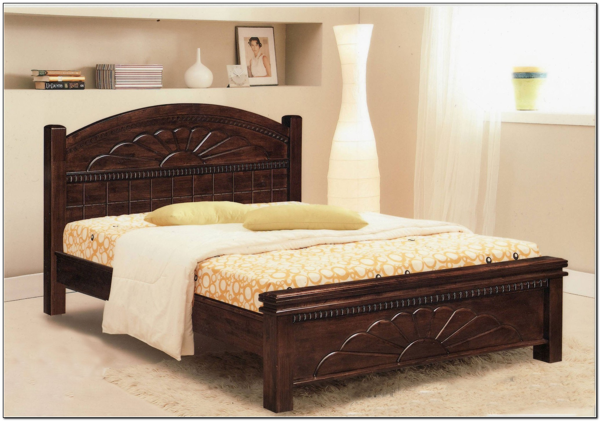 King Size Bed Frame Wood Beds Home Design Ideas 8angleodgr2584