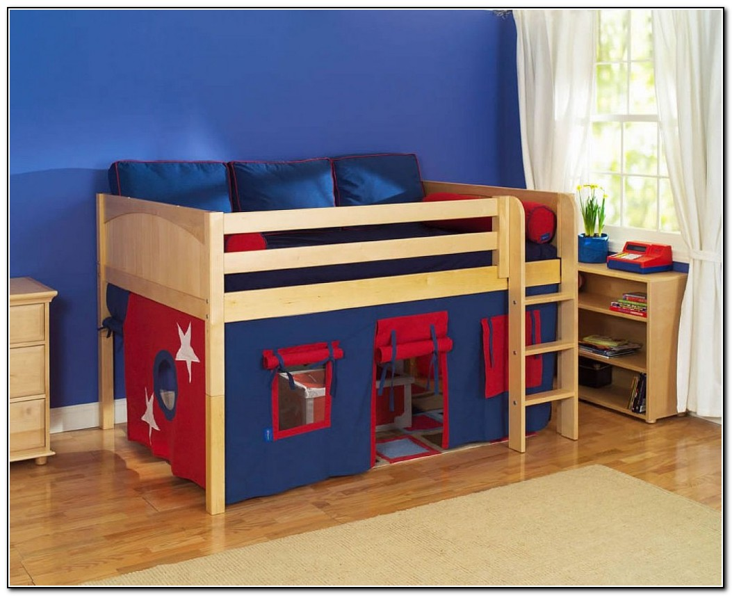 Loft beds for kids ikea beds home design ideas for Ikea kids loft bed