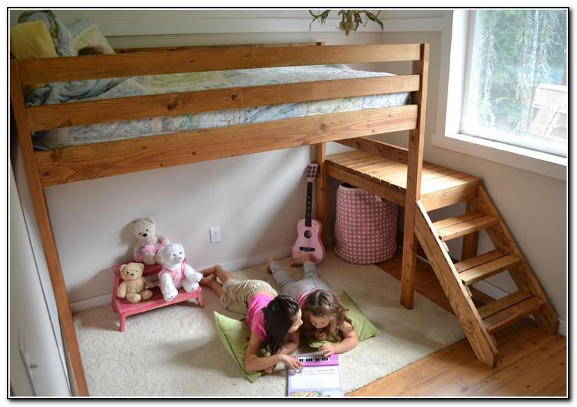 Loft Beds For Kids Plans Beds Home Design Ideas