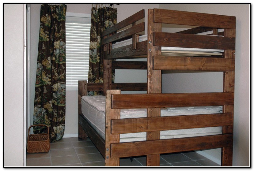 Twin Over Full Bunk Bed Plans - Beds : Home Design Ideas ...
