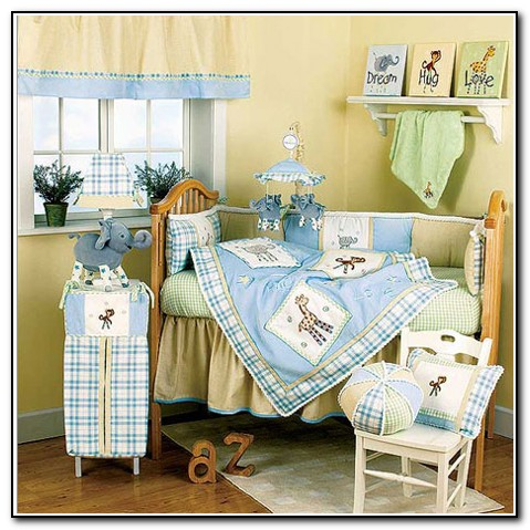 Baby Boy Crib Bedding Animals