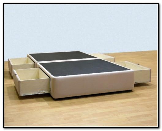 Cal King Storage Bed Frame