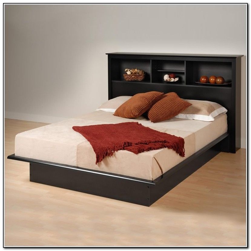 cheap platform beds with headboard beds home design