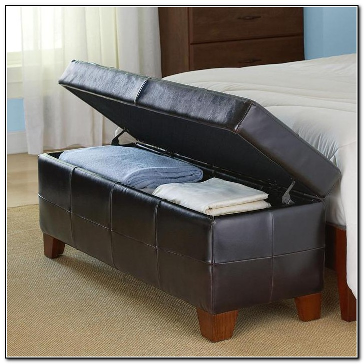 End Of Bed Bench With Storage