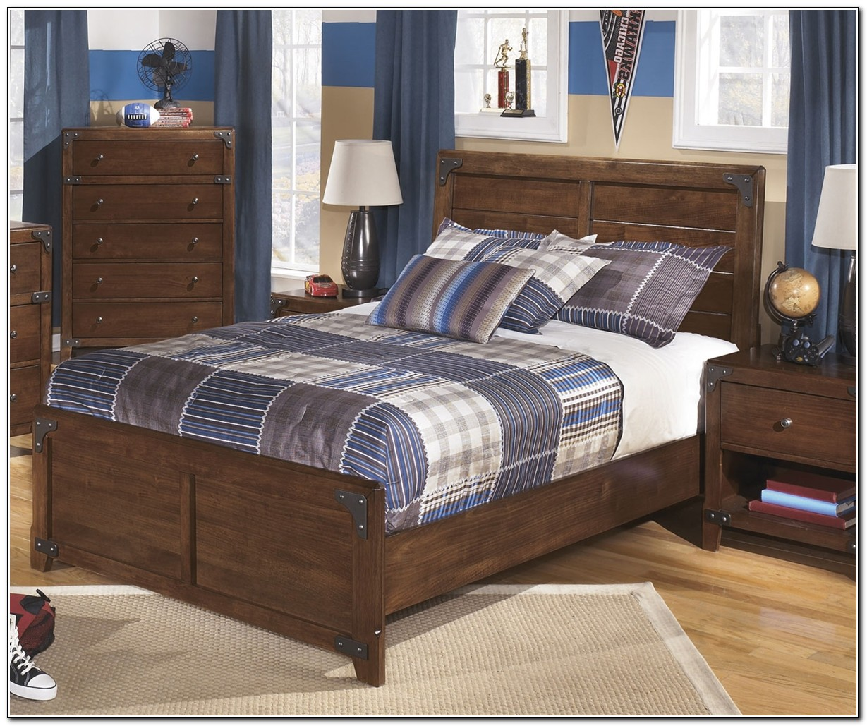 Full size beds for boys beds home design ideas for Boys full size bed