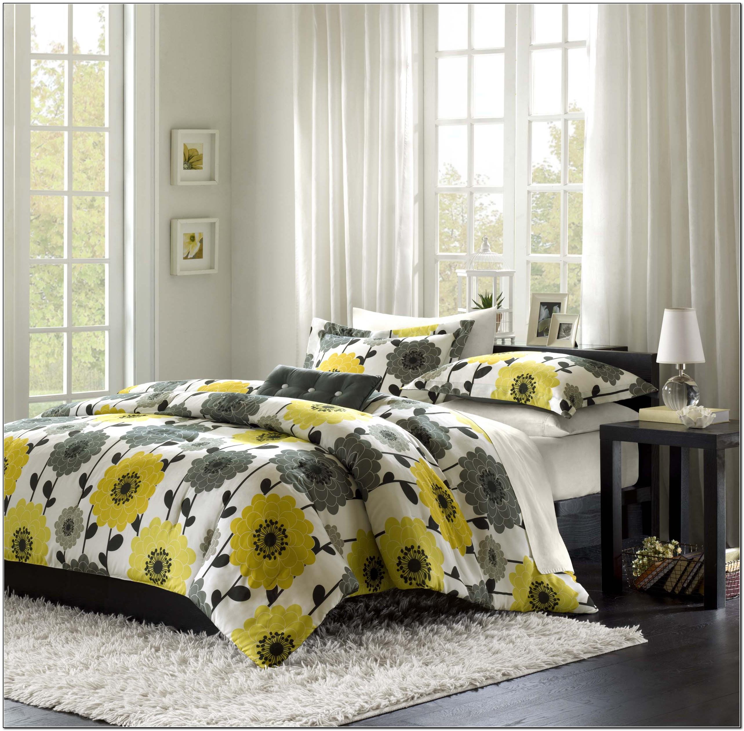 Grey And Yellow Bedding Kohl's