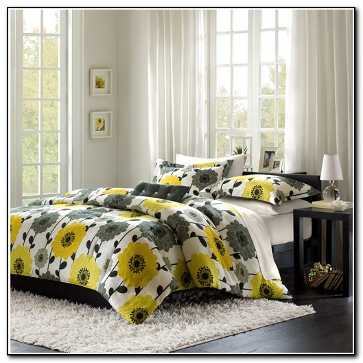 Grey And Yellow Bedding Walmart