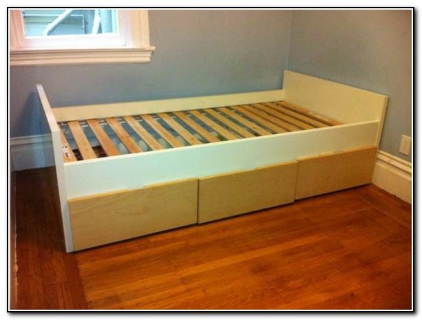 Ikea Twin Bed Three Drawers
