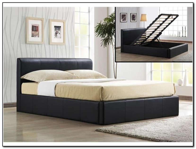 King Size Bed Frames With Storage