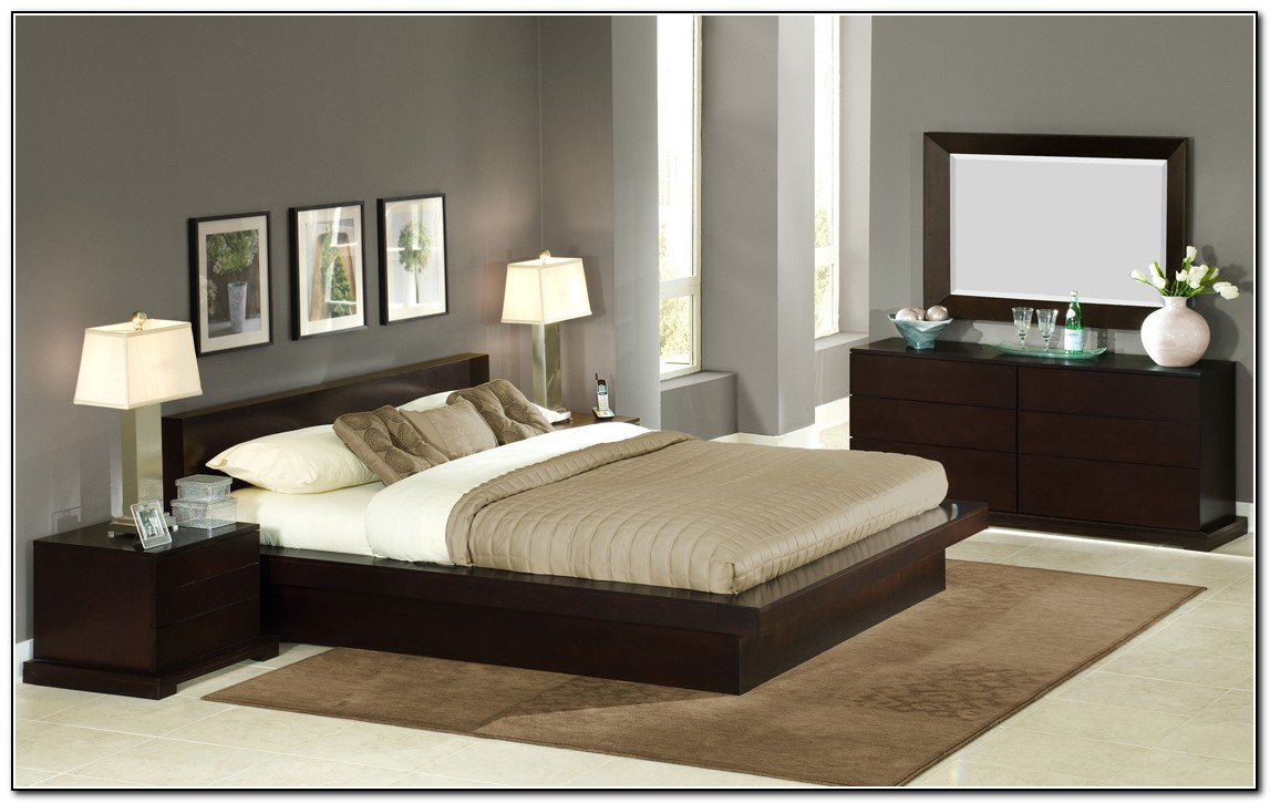 King Size Platform Bedroom Sets Beds Home Design Ideas