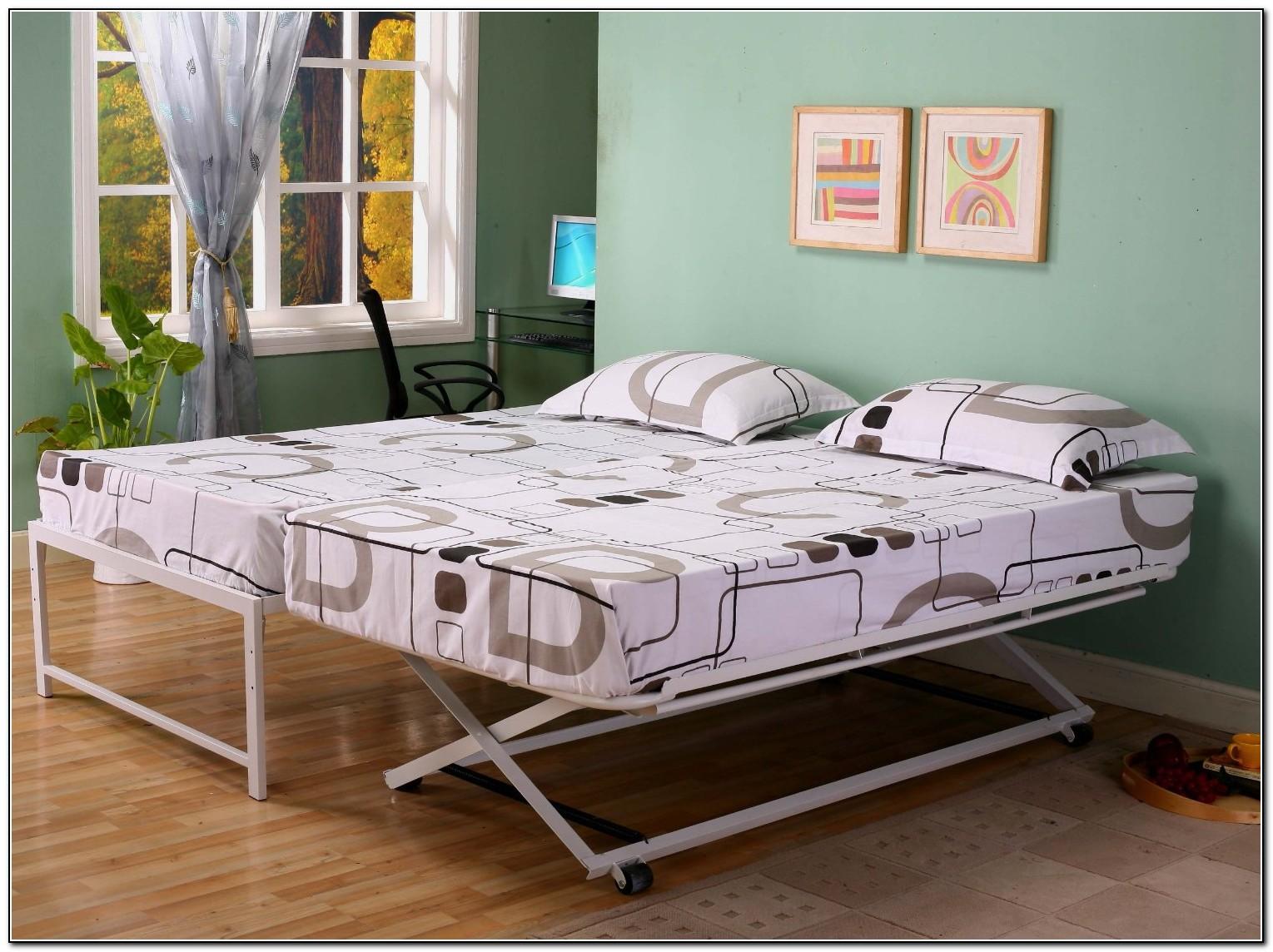 pop up trundle bed ikea beds home design ideas. Black Bedroom Furniture Sets. Home Design Ideas
