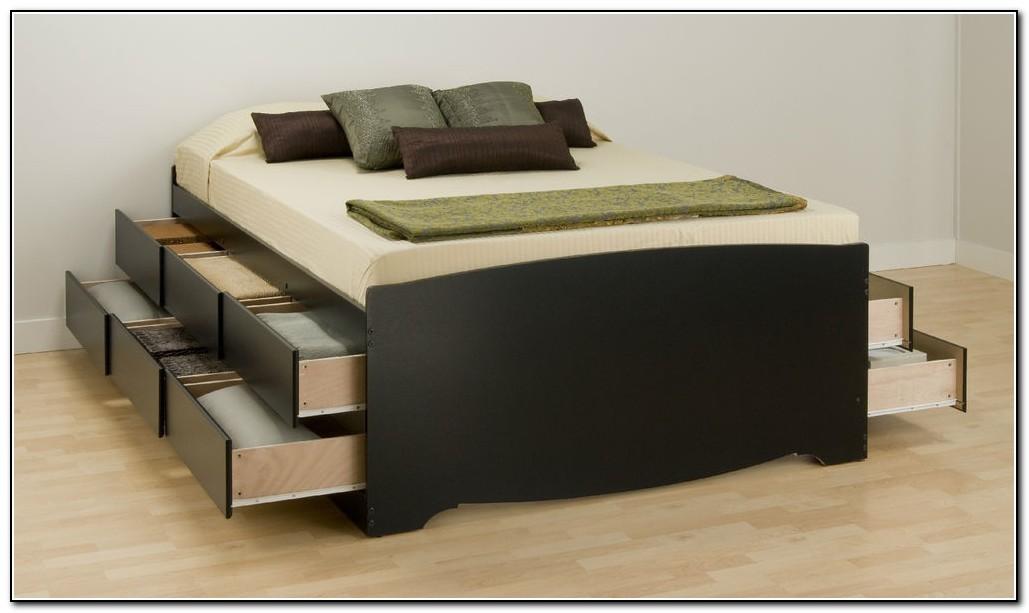 Queen Storage Bed Canada
