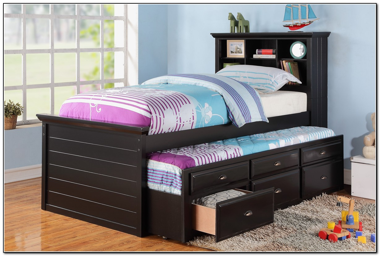 trundle bed with storage trundle bed with storage beds home design ideas 17580