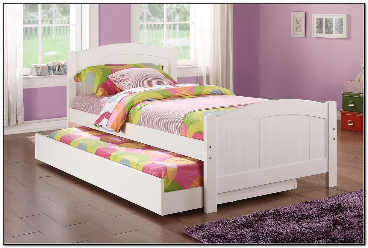 White Twin Bed With Trundle  Beds : Home Design Ideas XxPyewmPby5305
