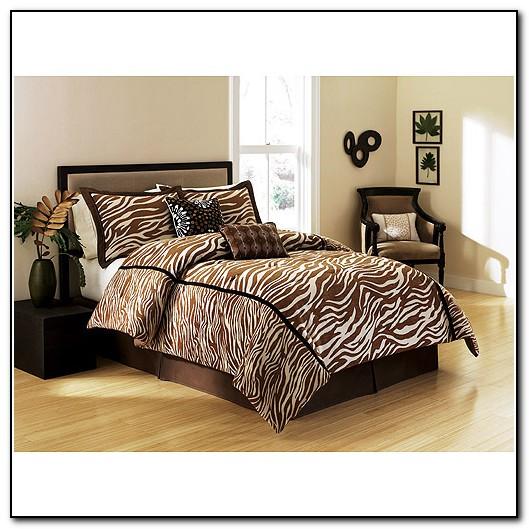 Zebra Cheetah Print Bedding