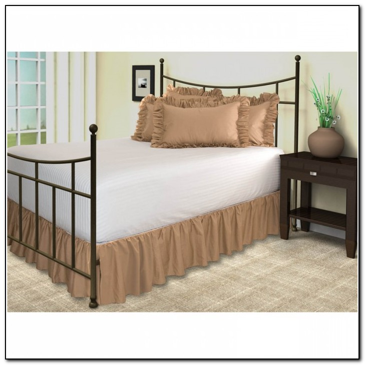 Twin Bed Skirts With Split Corners