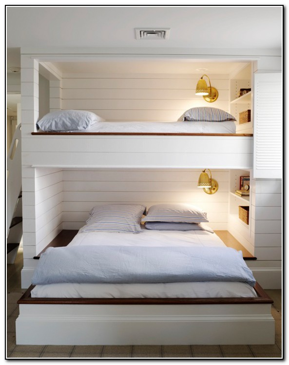 Built In Bunk Beds Beach House