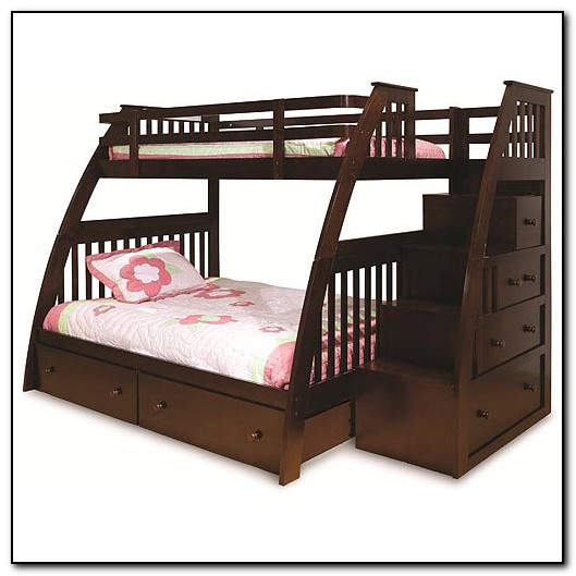 Built In Bunk Beds With Stairs