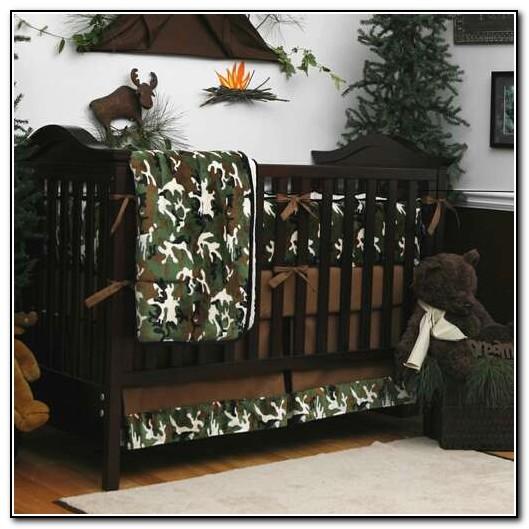 Camo Baby Crib Bedding Sets