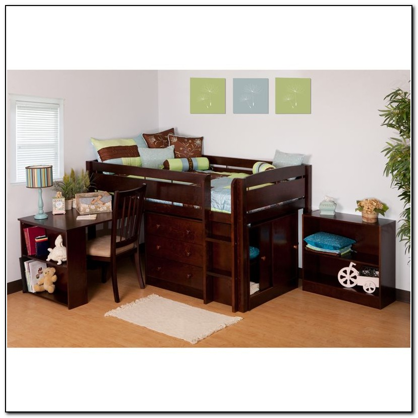Canwood Junior Loft Bed Espresso