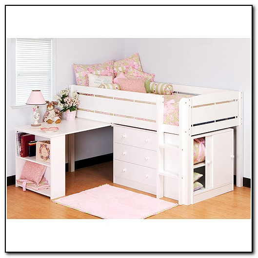 Canwood Whistler Junior Loft Bed White