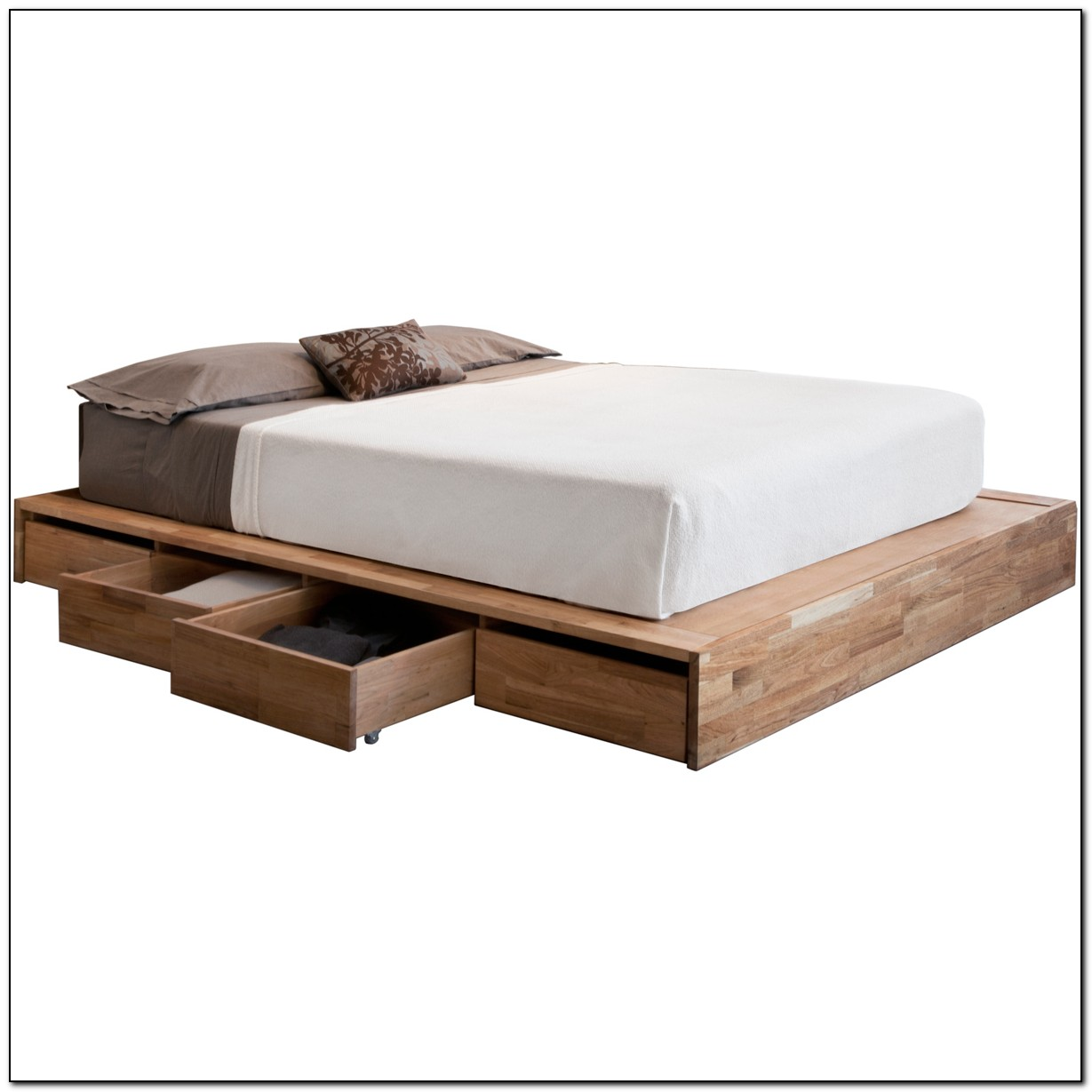 Full Size Platform Bed With Drawers Beds Home Design Ideas Q7pqdl6q8z6517