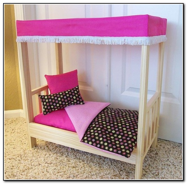 Girls Canopy Bed Set