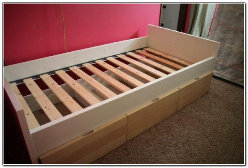 Ikea Trundle Bed With Drawers
