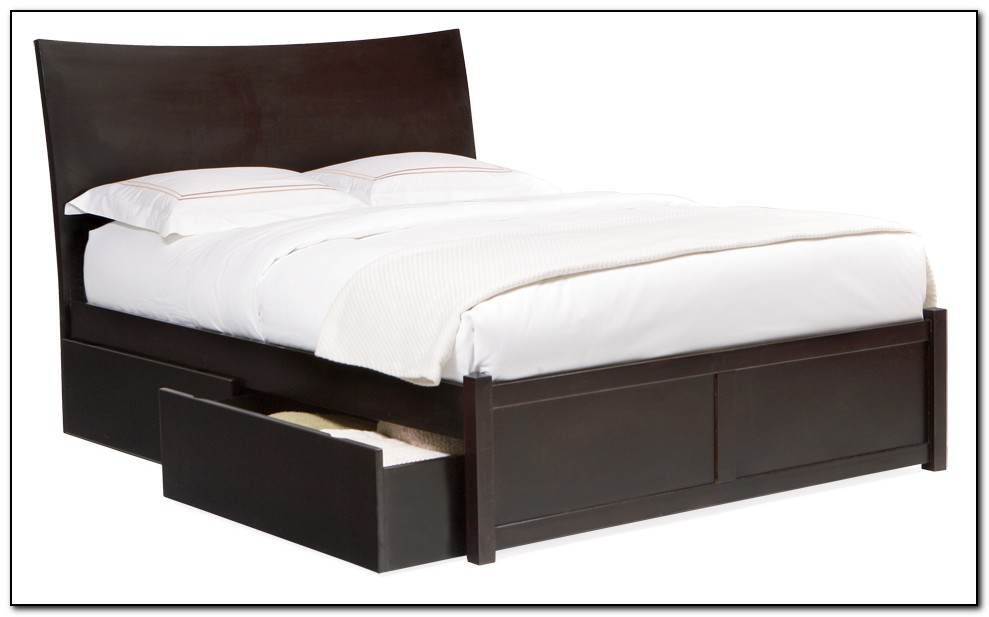 King Bed Frames With Drawers Underneath Beds Home