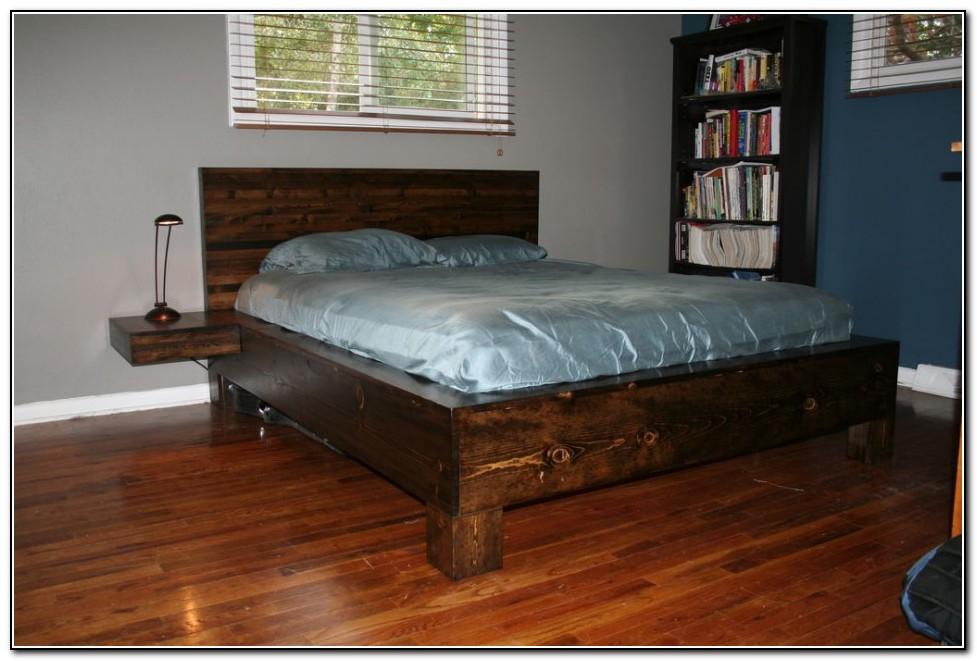 King Size Platform Bed Frame Diy