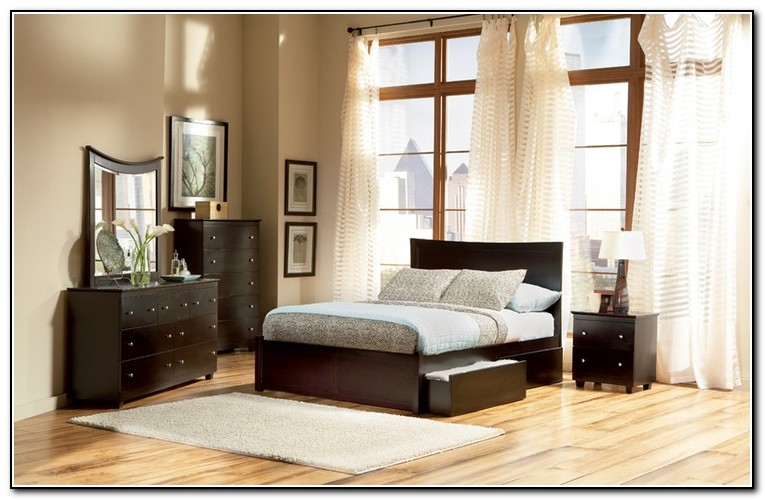 Low Bed Frames With Storage