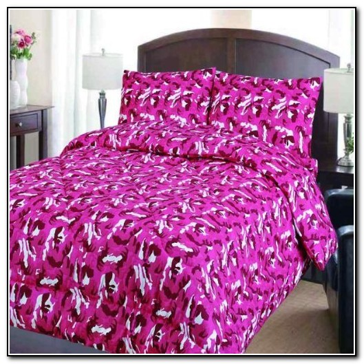 Pink Camo Bedding Sets King