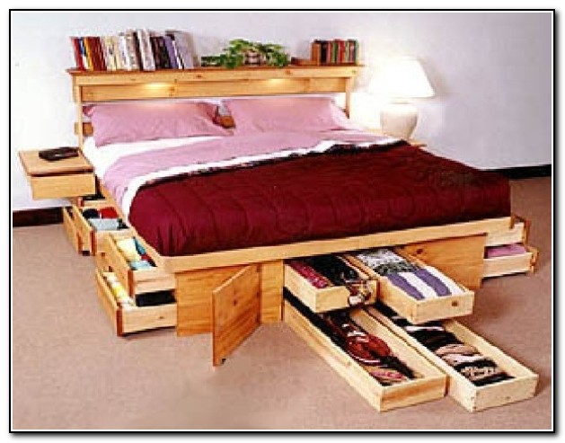 diy room crate bed the creative ideas storage under rolling idea