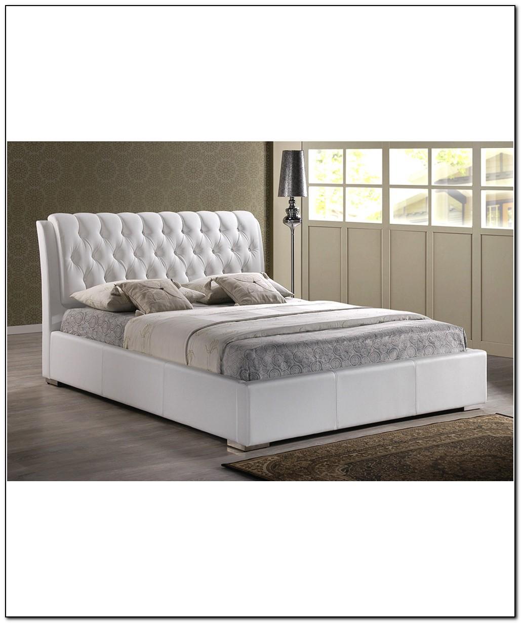 White Bed Frame Full