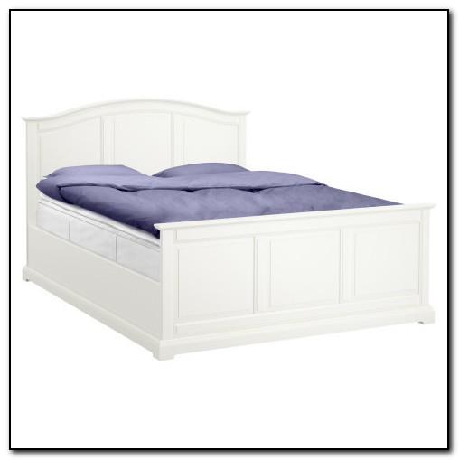White Bed Frame Ikea