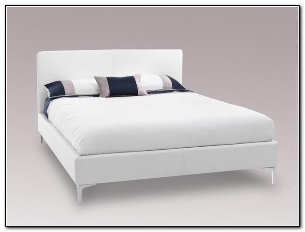White Bed Frame King