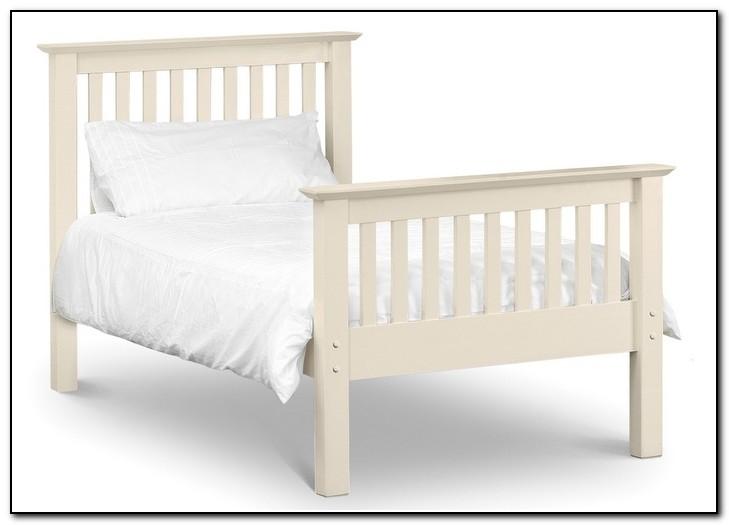 White Bed Frame Single