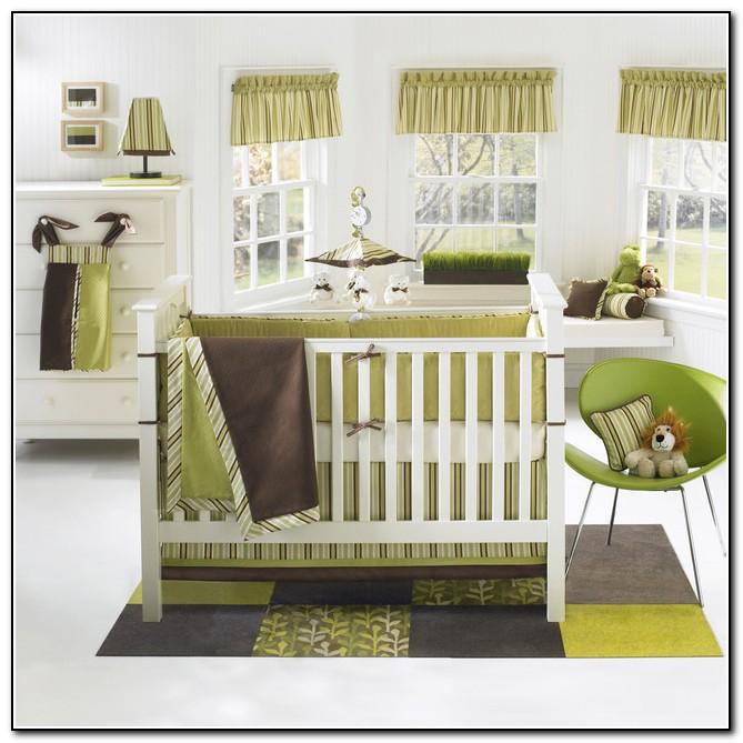 Baby Boy Nursery Bedding Modern