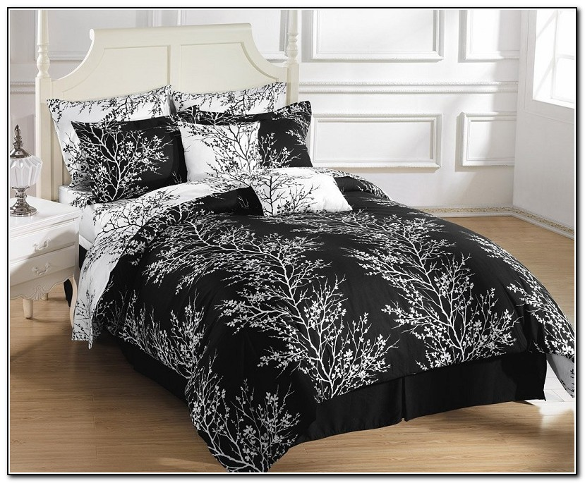 Black And White Full Size Bedding Sets
