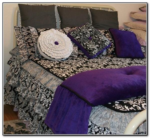 Black And White Ruffle Bedding
