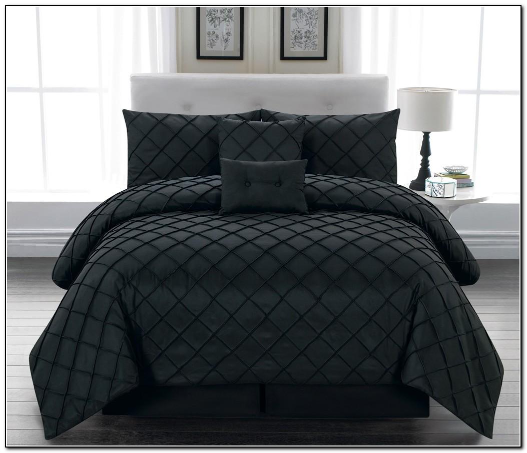 Black Queen Bed Set