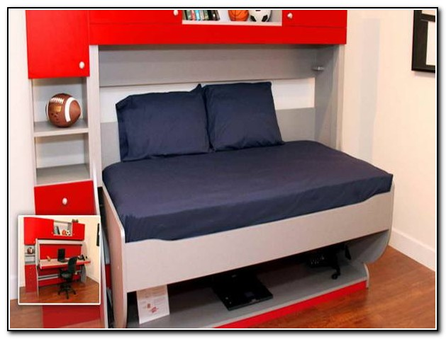 Bunk Bed Desk Combo Ikea