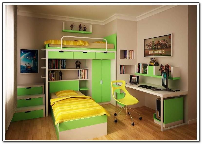 Bunk Bed Desk Designs