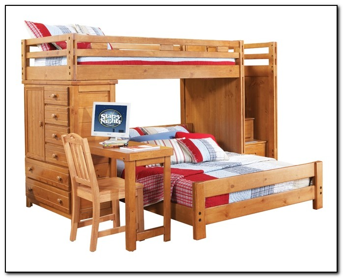 Bunk Beds For Boys With Desk