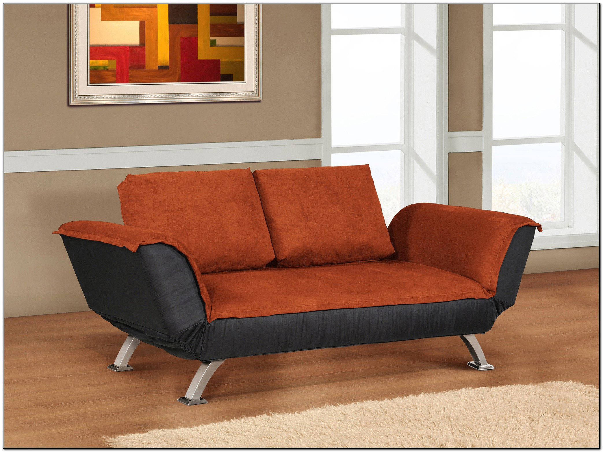 Convertible Loveseat Sofa Bed