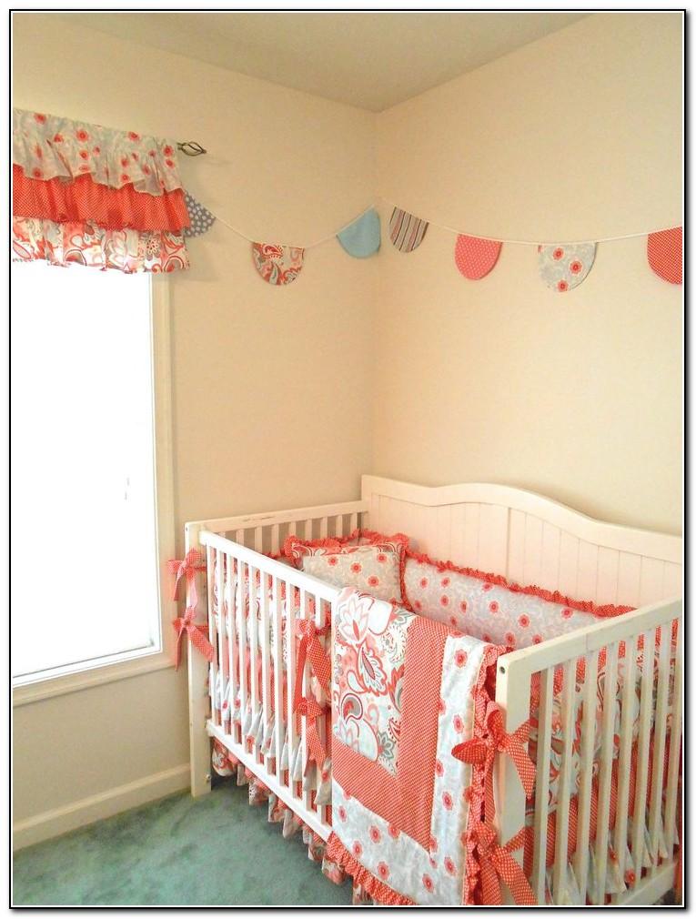 Crib Bedding Sets Coral