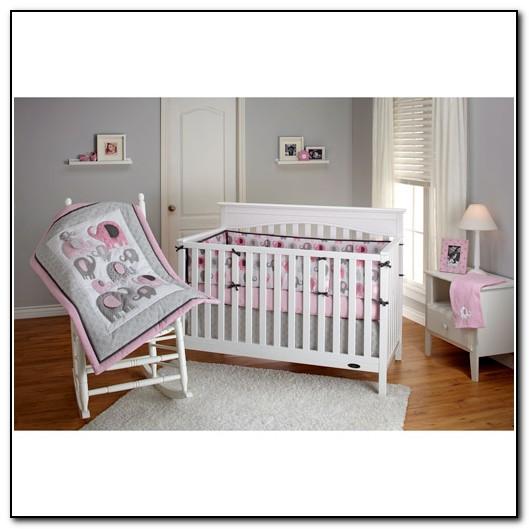 Elephant Crib Bedding Set